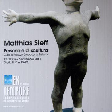 Personale di Scultura al Cubo di Palazzo Crepadona