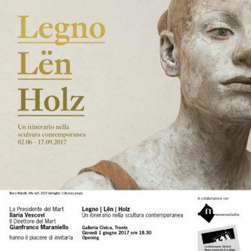 Legno | Len | Holz – Galleria Civica (TN)